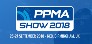 We will be exhibiting at PPMA show on 25-27 Sep 2018, Birmingham, UK